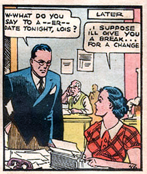 Action Comics #1, Clark and Lois